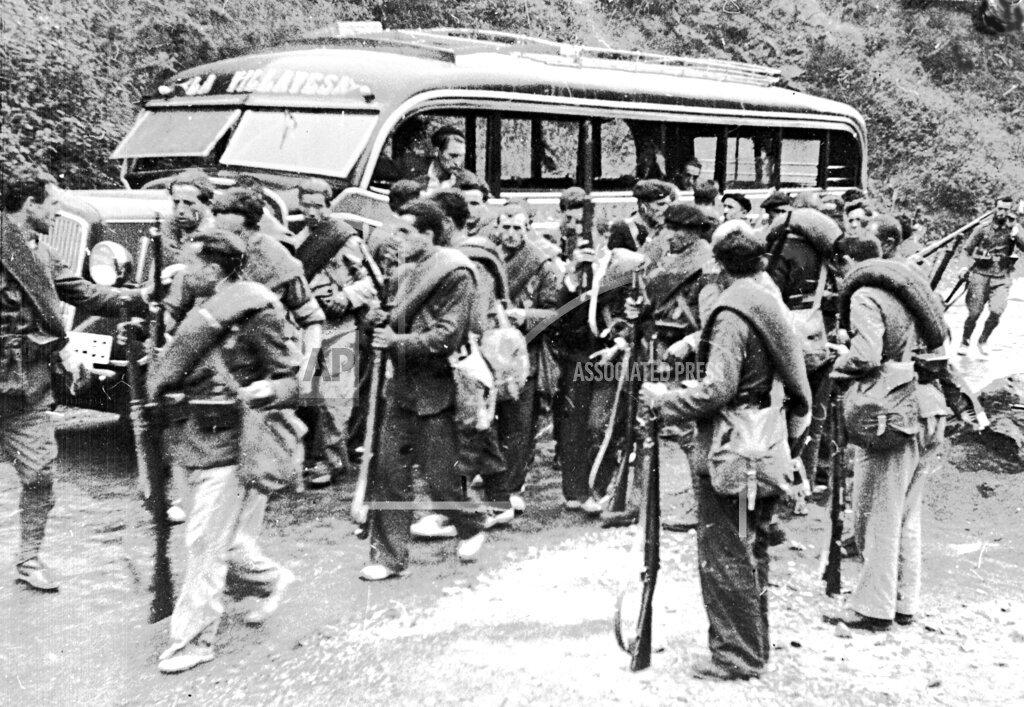 Associated Press International News Spain SPAIN CIVIL WAR 1936