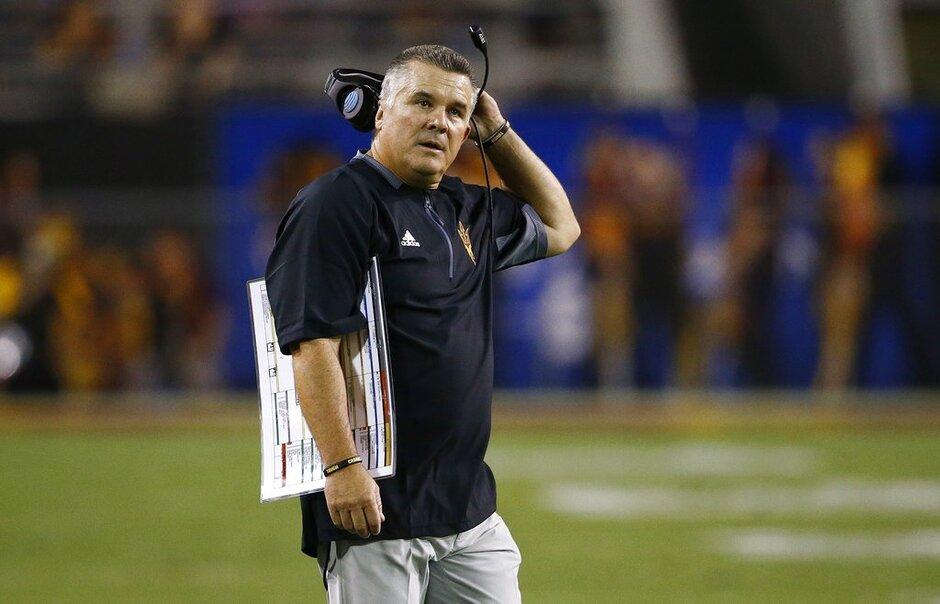 Arizona State Graham Fired Football