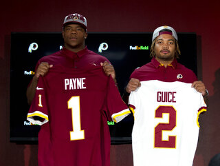 Redskins Draft Football