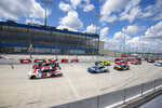 NASCAR Xfinity Series auto race at Dover International Speedway, Sunday, Aug. 23, 2020, in Dover, Del. (AP Photo/Jason Minto)