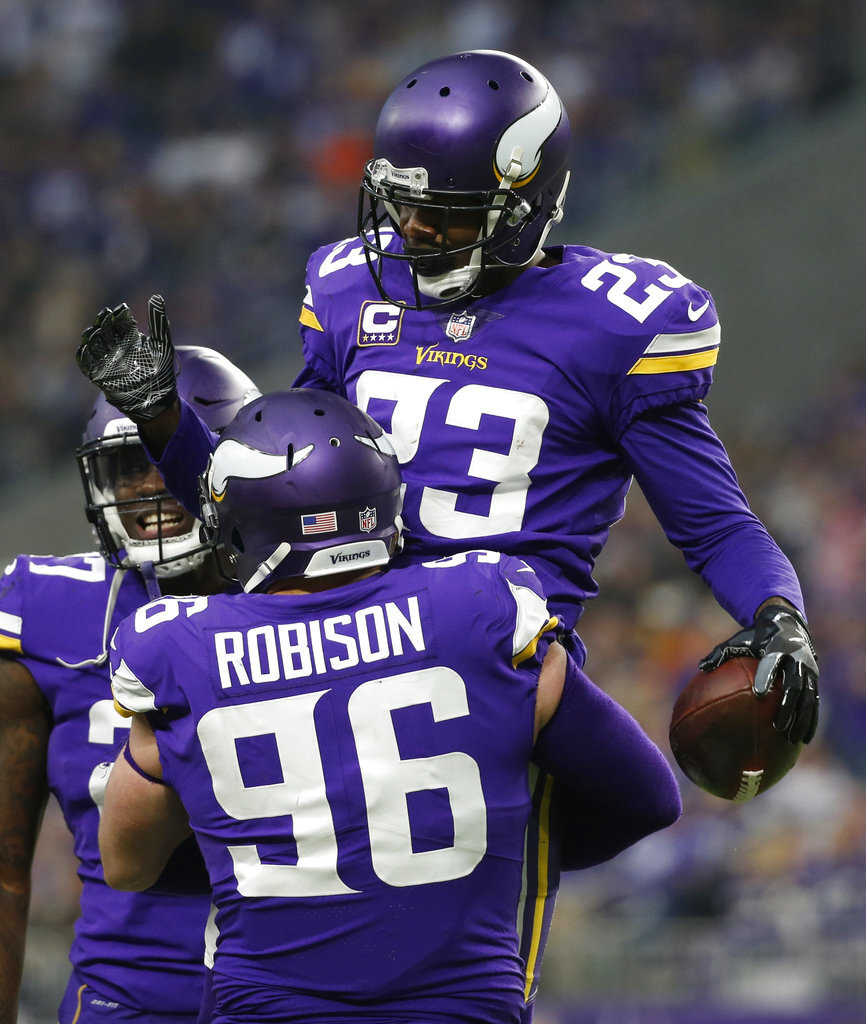 Brian Robison, Terence Newman