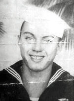 In this undated photo released by the Defense POW/MIA Accounting Agency is Navy Aviation Machinist's Mate 2nd Class Durell Wade. More than 75 years after nearly 2,400 members of the U.S. military were killed in the Japanese attack at Pearl Harbor some who died on Dec. 7, 1941, are finally being laid to rest in cemeteries across the U.S. Due to scheduling conflicts at the Mississippi Veterans Memorial Cemetery, his family decided Friday, Dec. 7, 2018, the 77th anniversary of the Japanese attack would be appropriate for his burial in his home state, even though people might have to take time off from work to attend, said his nephew, Dr. Lawrence Wade. (Defense POW/MIA Accounting Agency via AP)