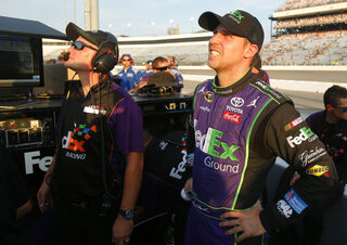 Denny Hamlin, Mike Wheeler