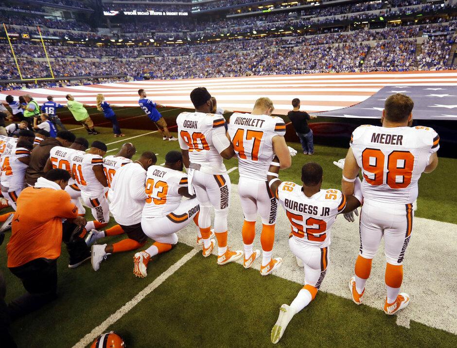 NFL Anthem Football