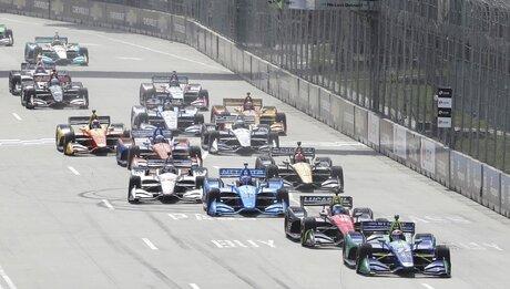 IndyCar Detroit Auto Racing