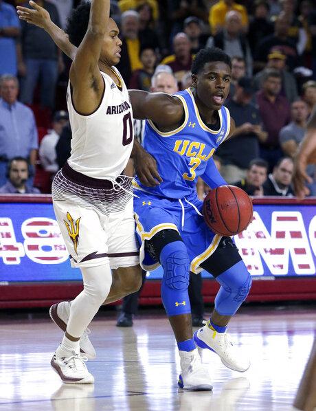 UCLA Arizona St Basketball
