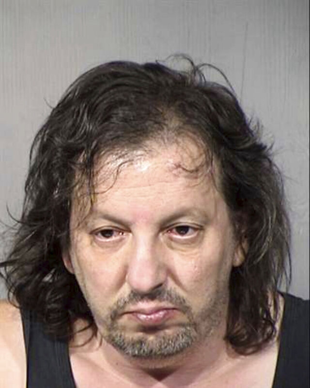 This undated booking photo provided by the Maricopa County, Ariz., Sheriff's Office, shows Robert Incorvaia, 51, who is accused of luring homeless women with the promise of food and shelter only to sexually assault them. Phoenix police said Friday, Aug. 7, 2020, more victims have been identified and Incorvaia, 51, is facing more charges. (Maricopa County Sheriff's Office via AP)