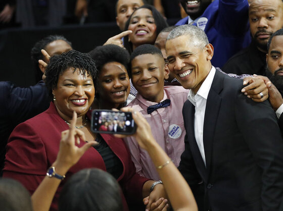 Stacey Abrams, Barack Obama