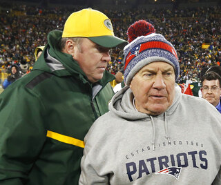 Mike McCarthy, Bill Belichick