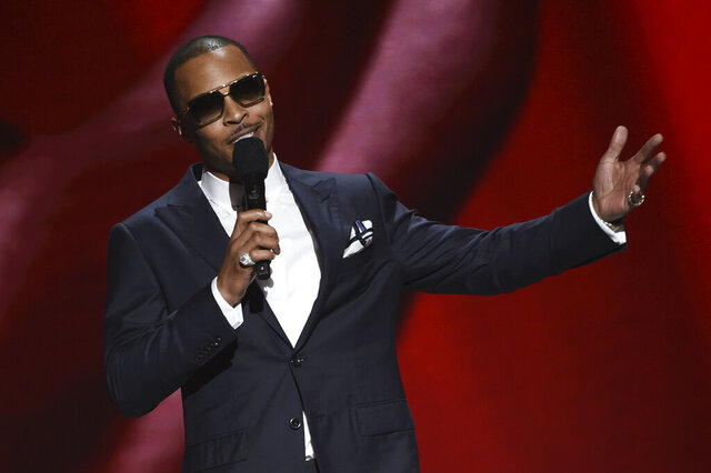 T.I. onstage at the 51st NAACP Image Awards at the Pasadena Civic Auditorium on Saturday, Feb. 22, 2020, in Pasadena, Calif. (AP Photo/Chris Pizzello)