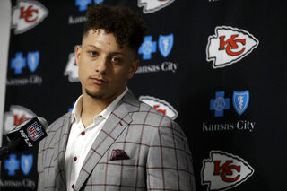 Chiefs Mahomes Football