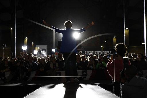 APTOPIX Election 2020 Elizabeth Warren