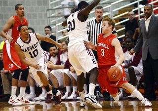 Harvard Cornell Basketball