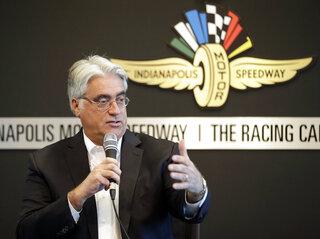 IndyCar Media Day Racing