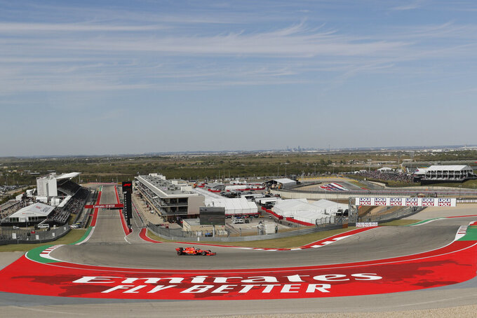 Road trip: NASCAR drives into Formula One territory in Texas