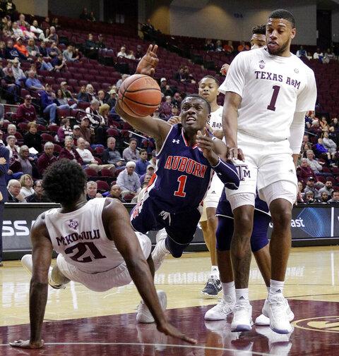Auburn Texas A M Basketball