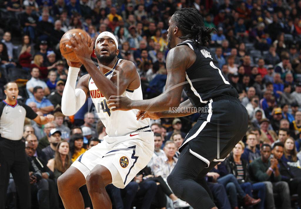 Nets Nuggets Basketball