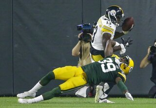 Steelers Packers Football