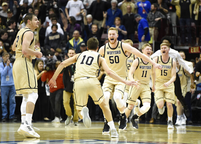 Wofford's rally has bubble teams breathing sighs of relief