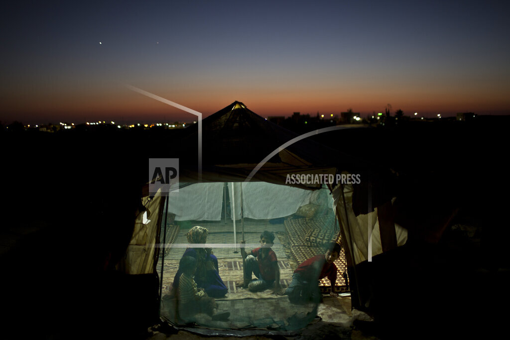 APTOPIX Mideast Jordan War's Youngest Victims Photo Essay
