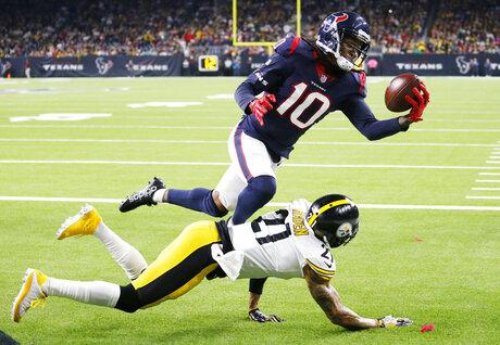 Steelers Texans Football