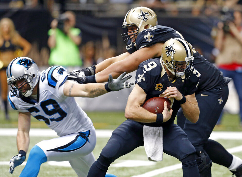Drew Brees, Jared Allen