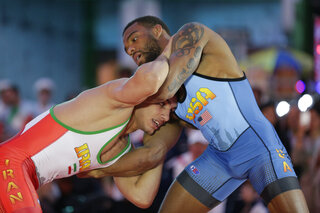 The Burroughs Boost Olympics Wrestling
