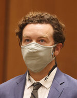 Actor Danny Masterson appears at his arraignment in Los Angeles Superior Court in Los Angeles, Calif. on Friday, Sept. 18, 2020.