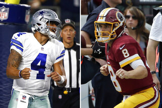 Redskins Cowboys Football