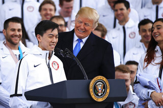 Donald Trump, Vincent Zhou