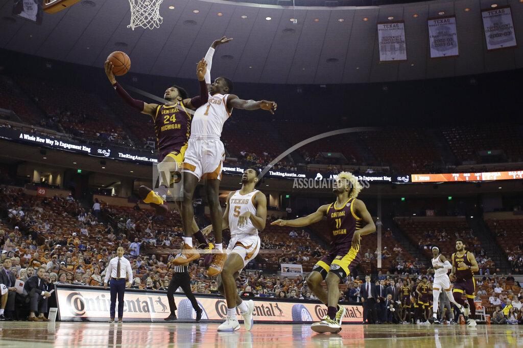 APTOPIX Central Michigan Texas Basketball