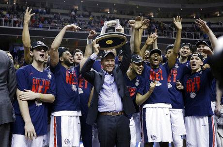APTOPIX NCAA Xavier Gonzaga Basketball