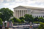 The Supreme Court is seen in Washington, Thursday, July 1, 2021. (AP Photo/J. Scott Applewhite)