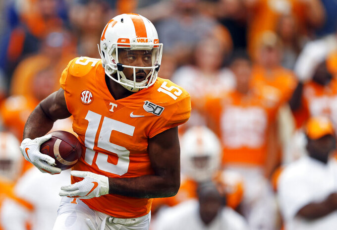 Tennessee WR Jauan Jennings making most of second chance