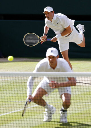 Bryan Brothers Out Tennis