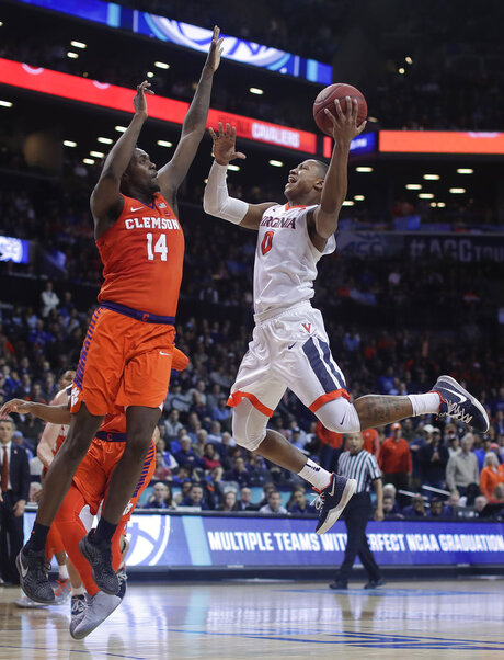 ACC Clemson Virginia Basketball