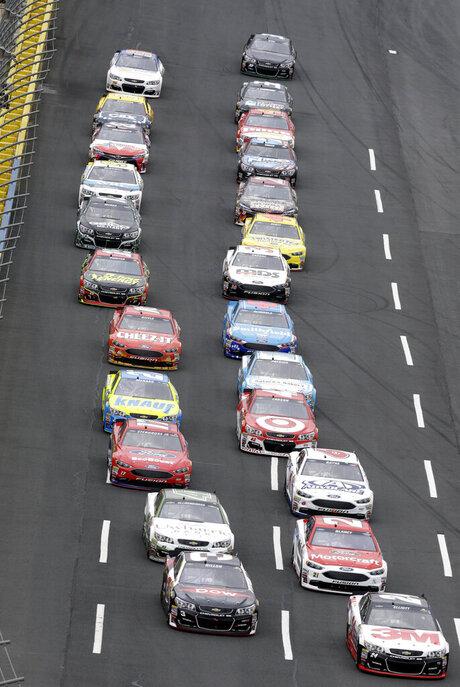 NASCAR Charlotte Sprint Showdown Auto Racing