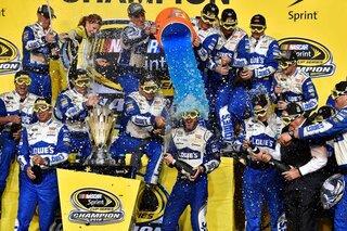 Gatorade Athlete Jimmie Johnson wins his 7th NASCAR Championship