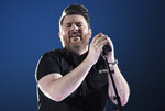 FILE - In this April 15, 2018 file photo, Chris Young performs