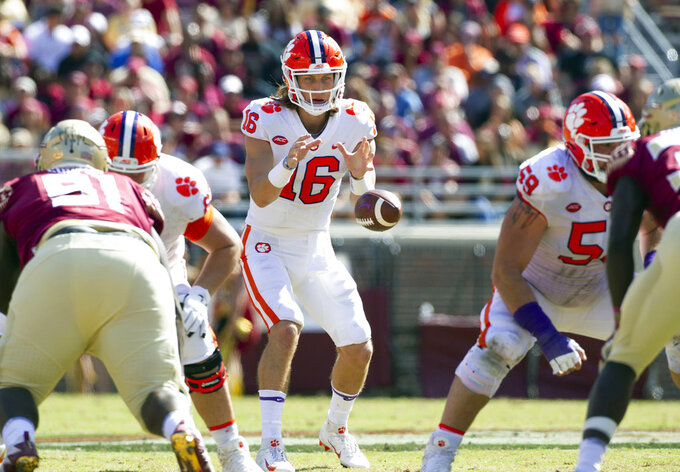 No. 2 Clemson 'a lot better' heading down the stretch