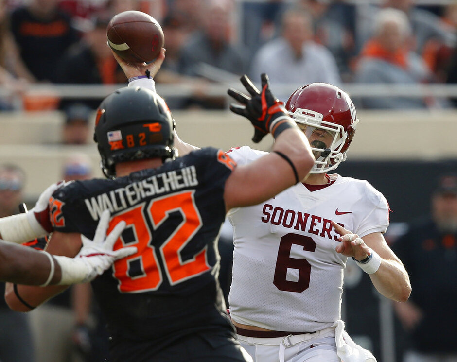 Baker Mayfield, Cole Walterscheid