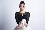 This Sept. 24, 2020 photo released by CLI Studios, Inc. shows ballet dancer Tiler Peck during a portrait session. Peck, a principal dancer with New York City Ballet, has curated a virtual evening of dance,