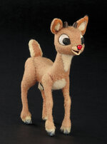 This image released by Profiles in History shows a Rudolph reindeer puppet used in the filming of the 1964 Christmas special