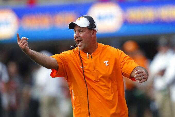 Tennessee's Pruitt praises 'best staff in the country'