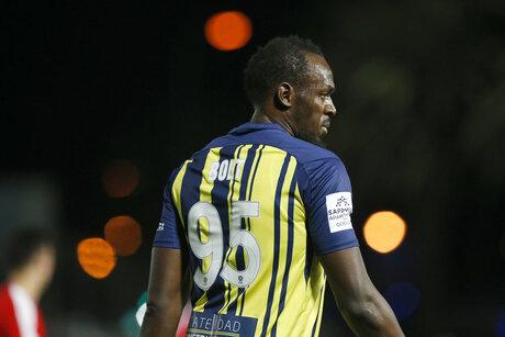 Usain Bolt, Australia Soccer Usain Bolt