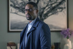 This image released by NBC shows Sterling K. Brown in a scene from