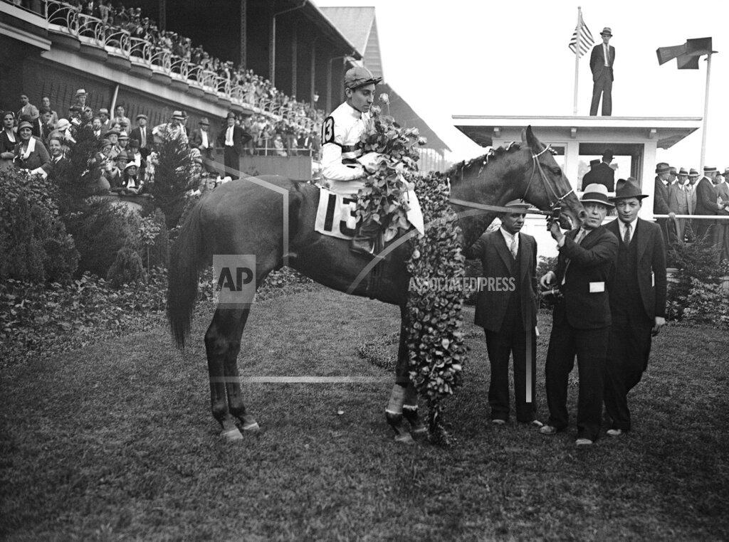 Watchf Associated Press Sports Racing (animals) Kentucky United States APHS124944 Kentucky Derby Burgoo King 1932