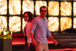 """FILE - This image released by 20th Century Studios shows Jodie Comer, left, and Ryan Reynolds in a scene from """"Free Guy."""" (Alan Markfield/20th Century Studios via AP, File)"""