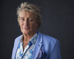 Rod Stewart poses for a portrait on Wednesday, Aug. 8, 2018 in New York to promote his tour and upcoming album,