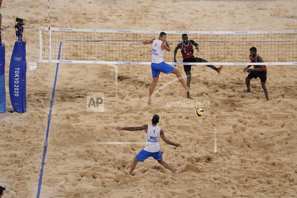 Tokyo Olympics Beach Volleyball